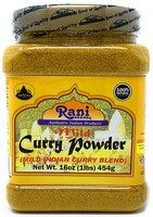Rani Curry Powder Mild Natural 10-Spice Blend 1lb (16oz)